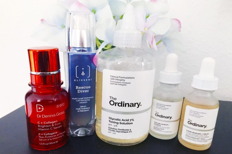 how to layer acids in your skincare routine 01