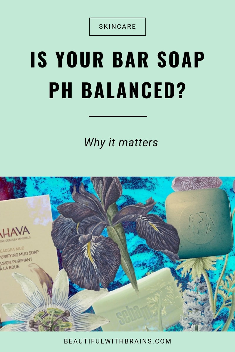 use only ph balanced soaps