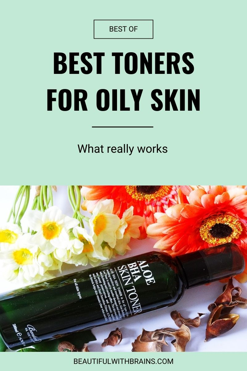 3 best toners for oily skin