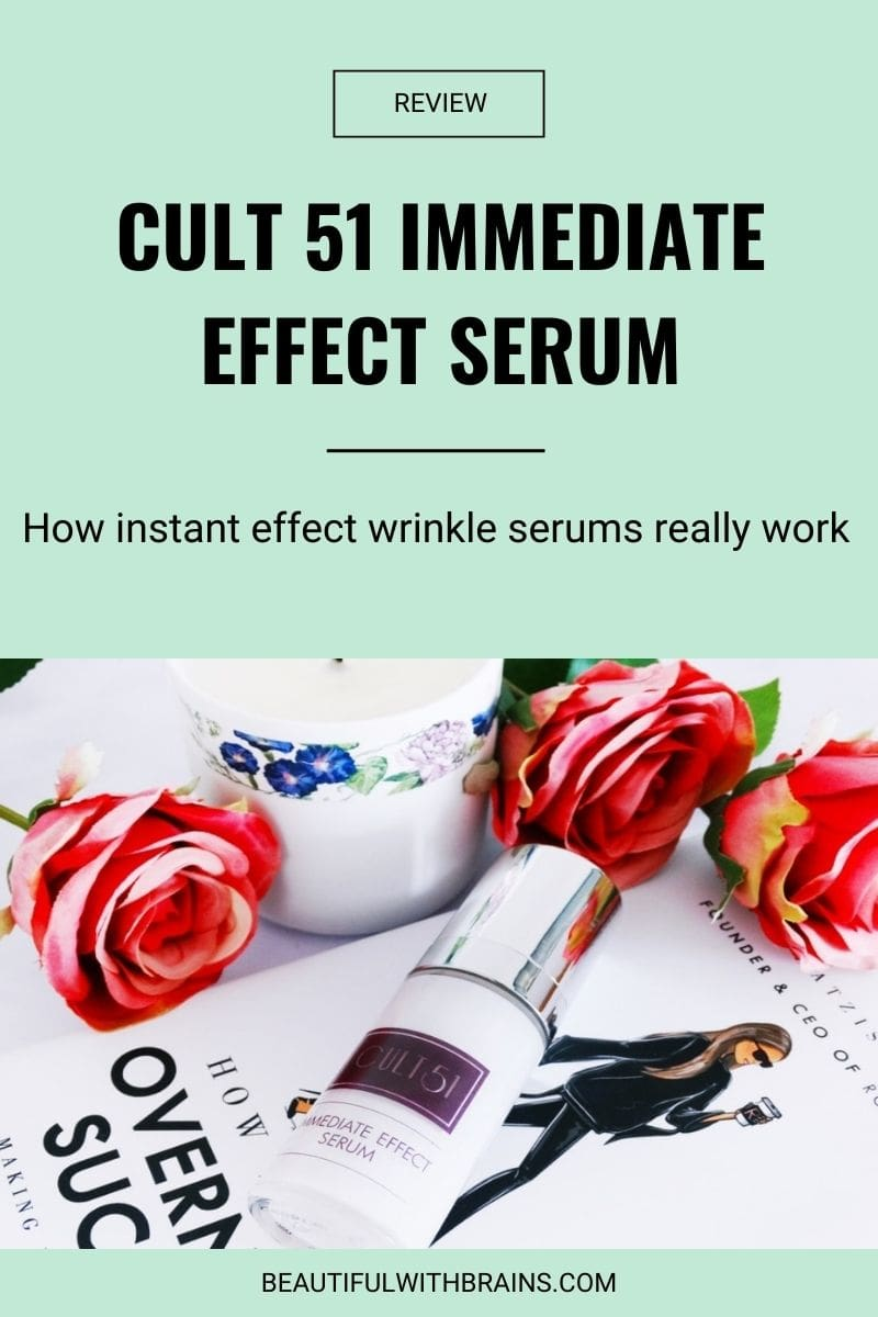 Cult 51 Immediate Effect Serum review