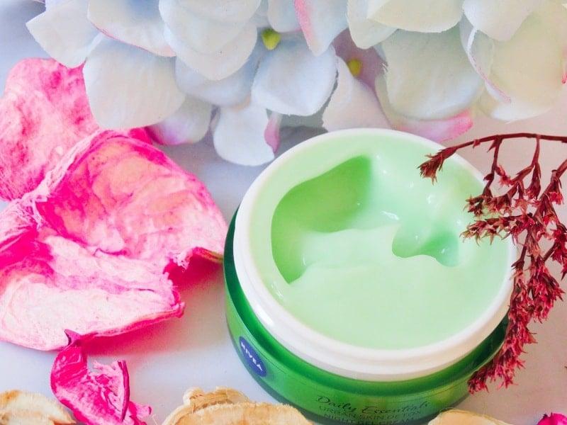 nivea urban skin detox night gel cream