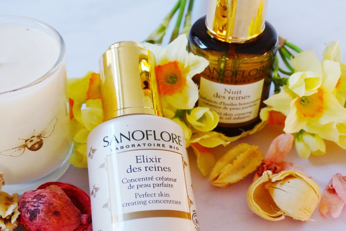 sanoflore nuit and elixir de reines