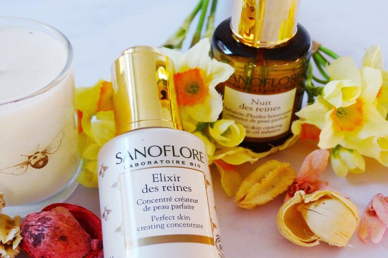 sanoflore nuit and elixir de reines