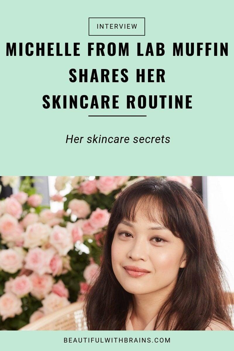 michelle wong skincare secrets interview