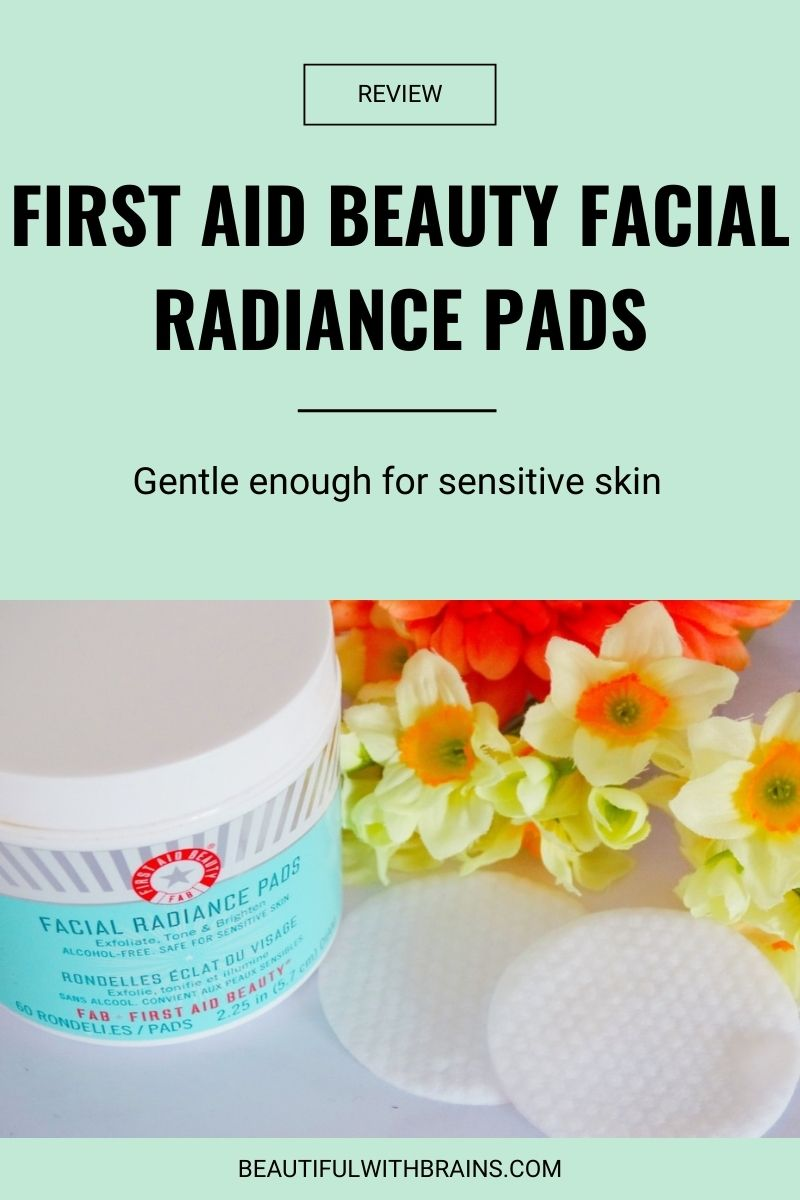 review First Aid Beauty Facial Radiance Pads