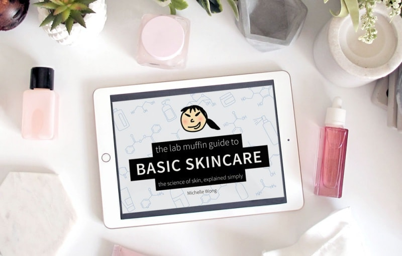 the lab muffin basic guide to skincare ebook