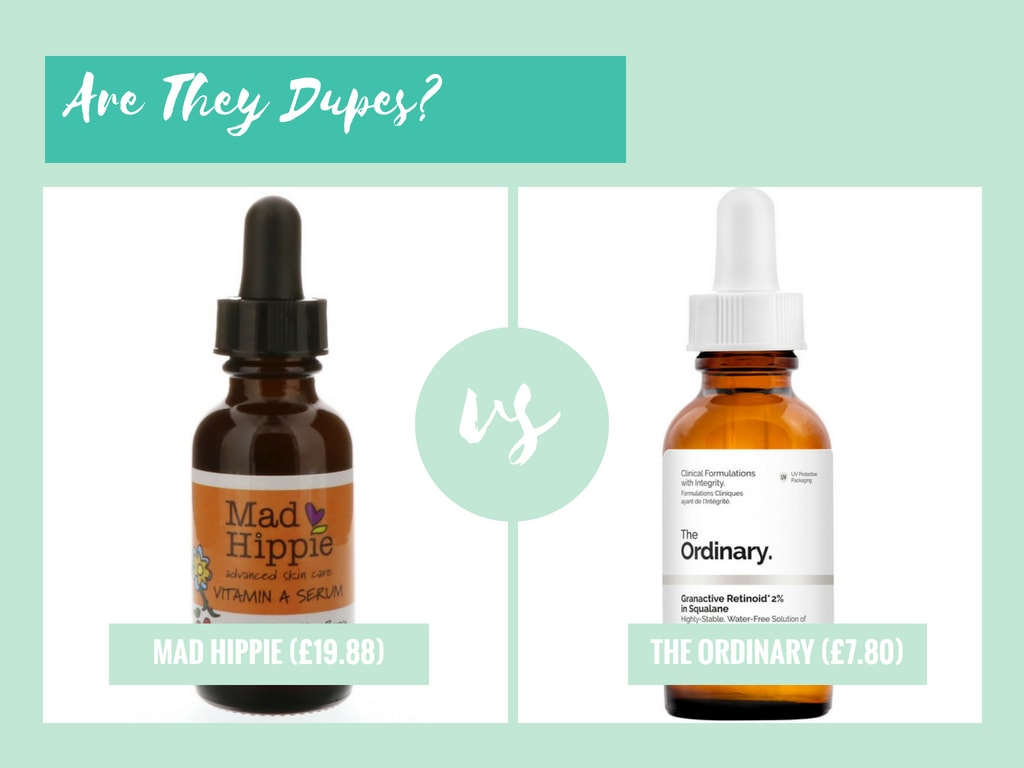 Are They Dupes The Ordinary Granactive Retinoid 2 In