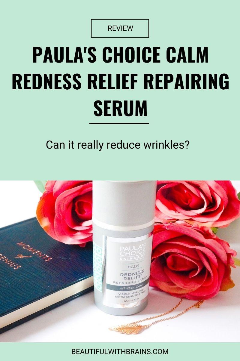 Paula's Choice Calm Redness Relief Repairing Serum review