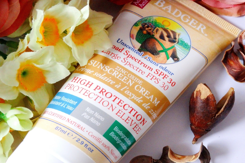 badger balm zinc oxide sunscreen cream spf 30
