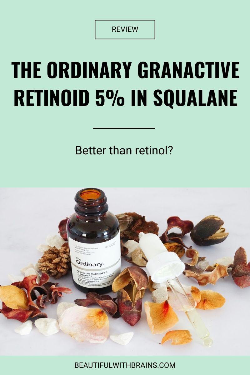 The Ordinary Granactive Retinoid 5% In Squalane review