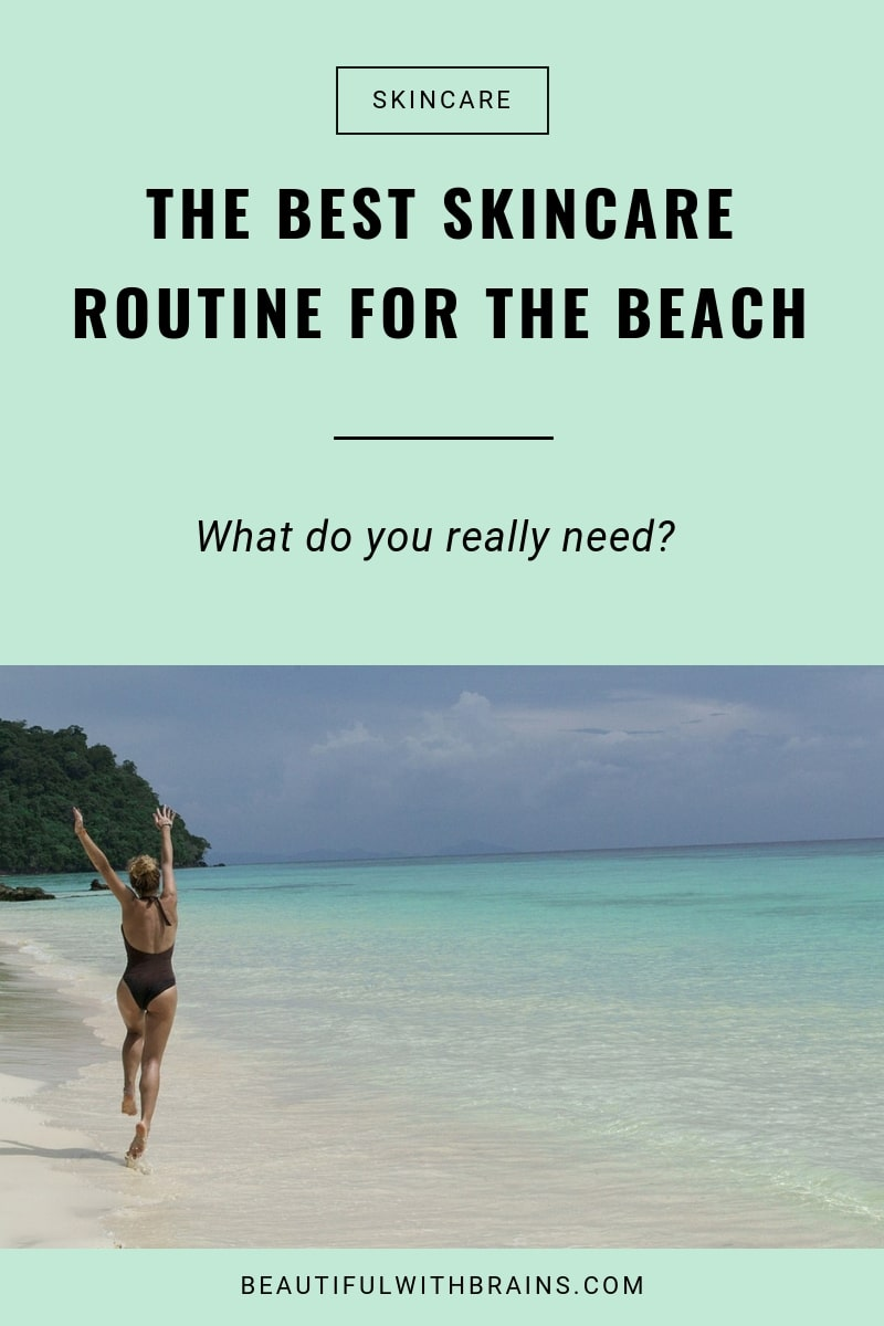 best beach skincare routine