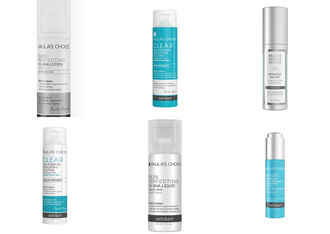 paula's choice bha exfoliants guide