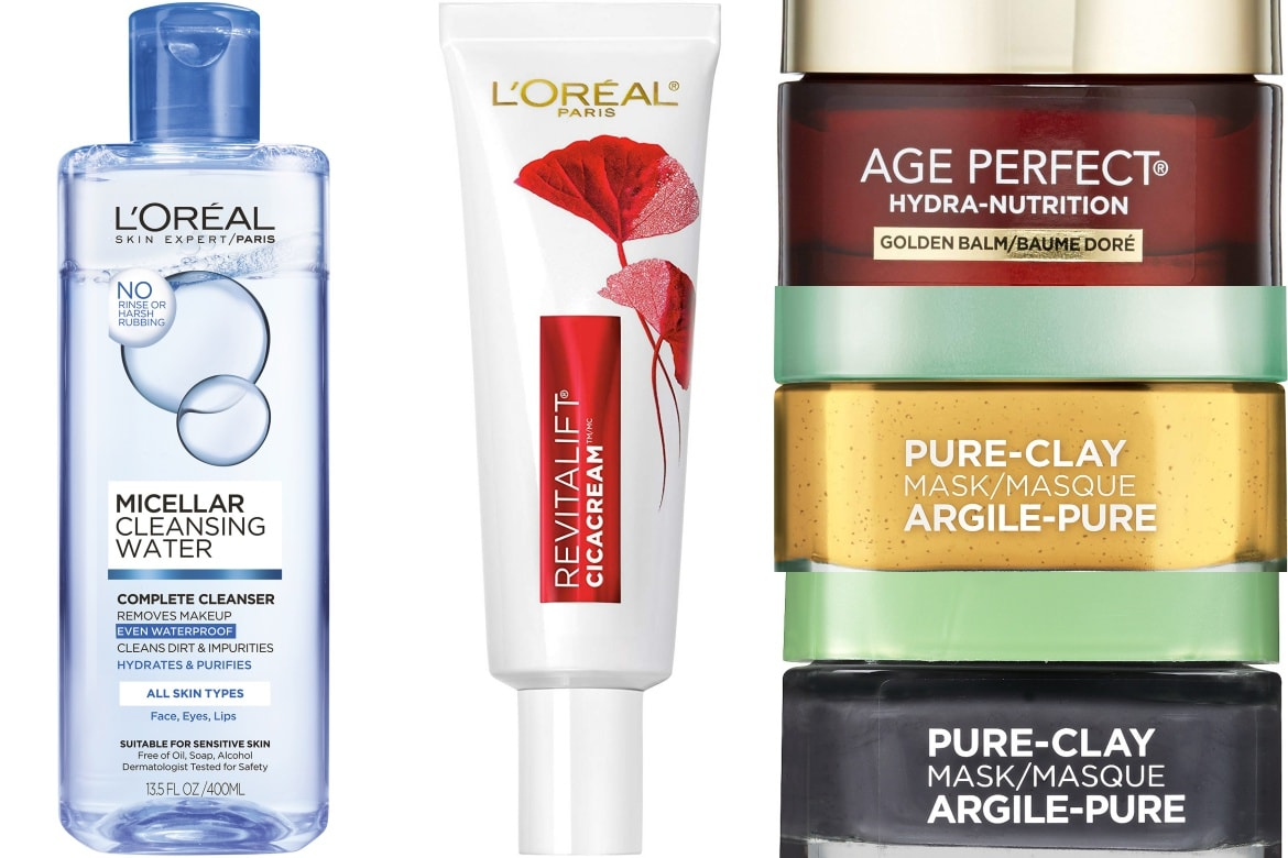 the best l'oreal skincare prodcuts
