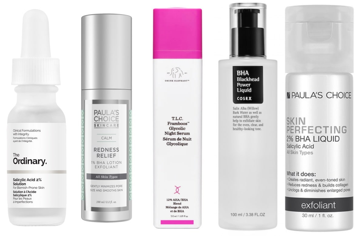 best salicylic acid exfoliants