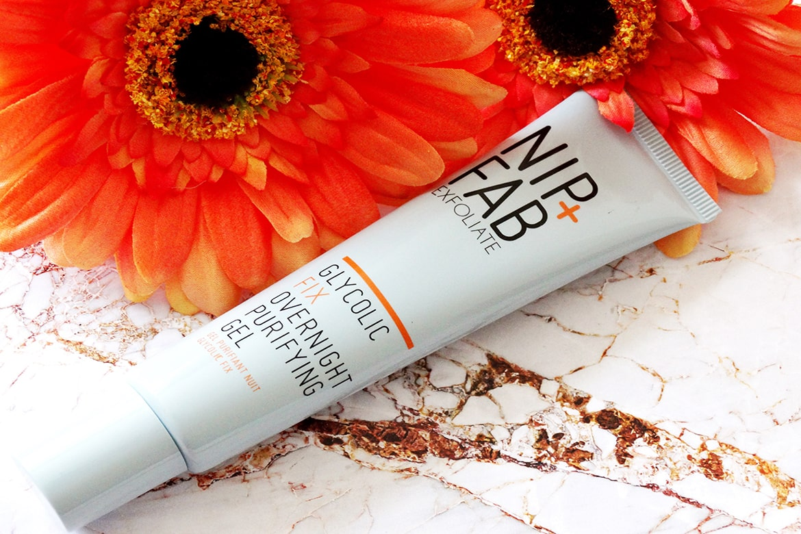 nip + fab glycolic fix overnight purifying gel