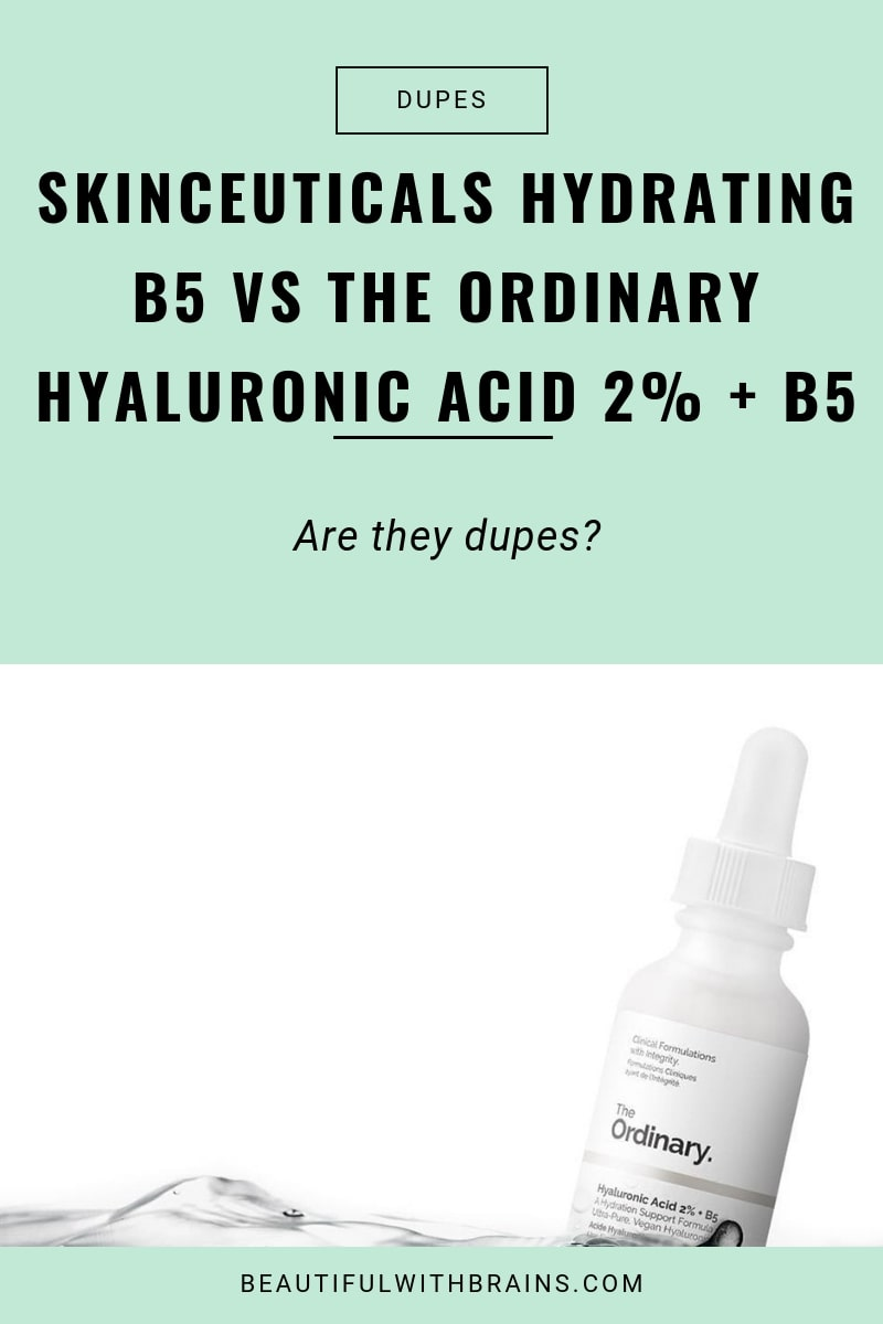 a dupe for skinceuticals hydrating b5 gel