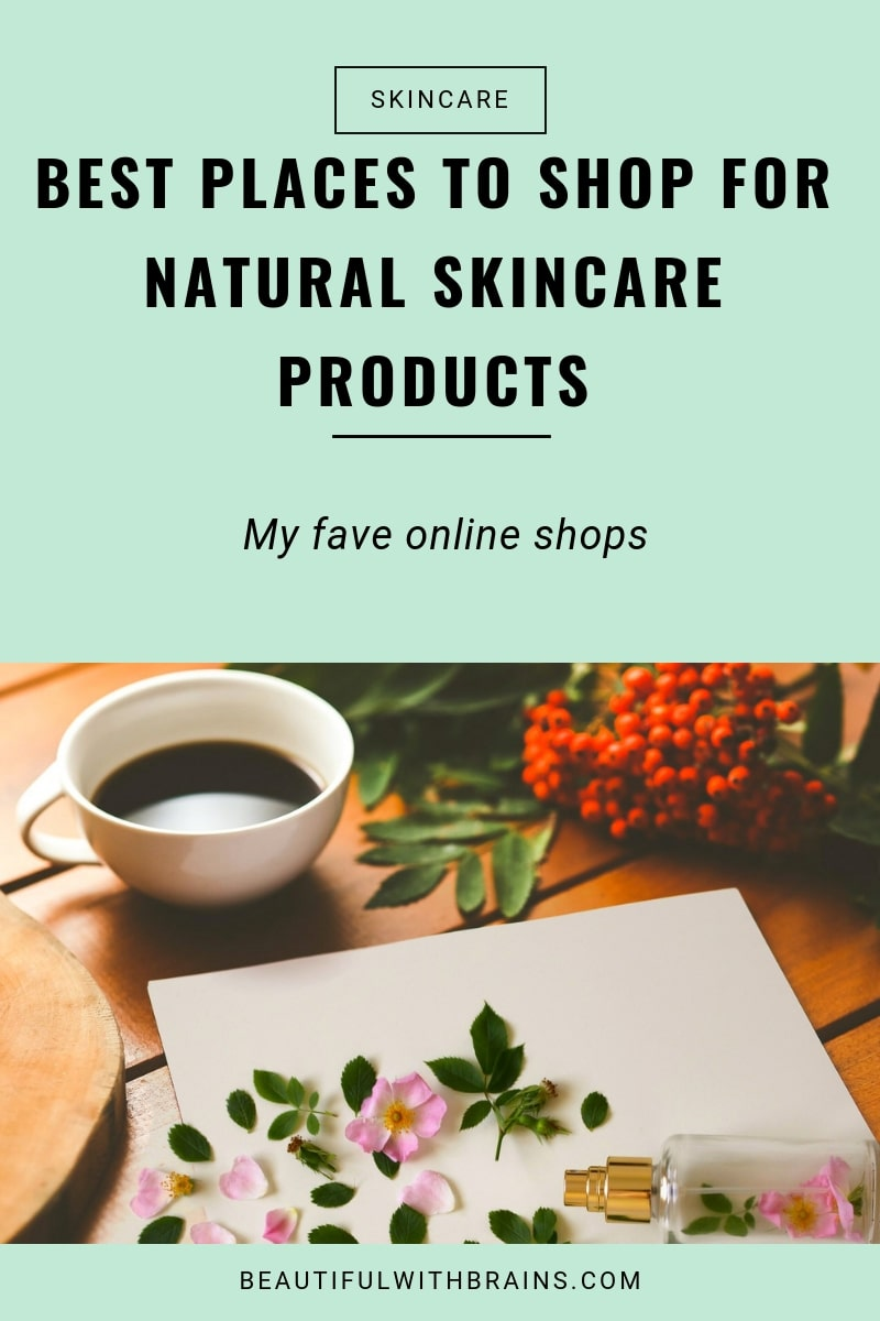 best online shops for natural skin care products