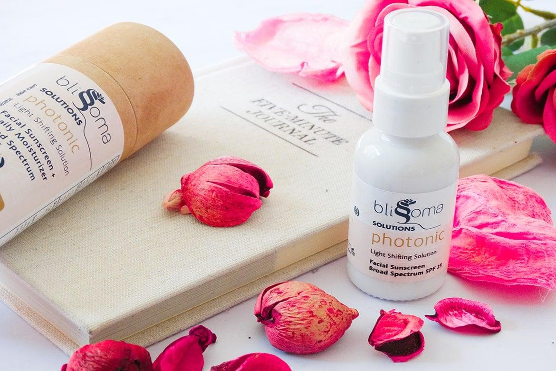 blissoma phototonic facial sunscreen + daily moisturizer SPf 25