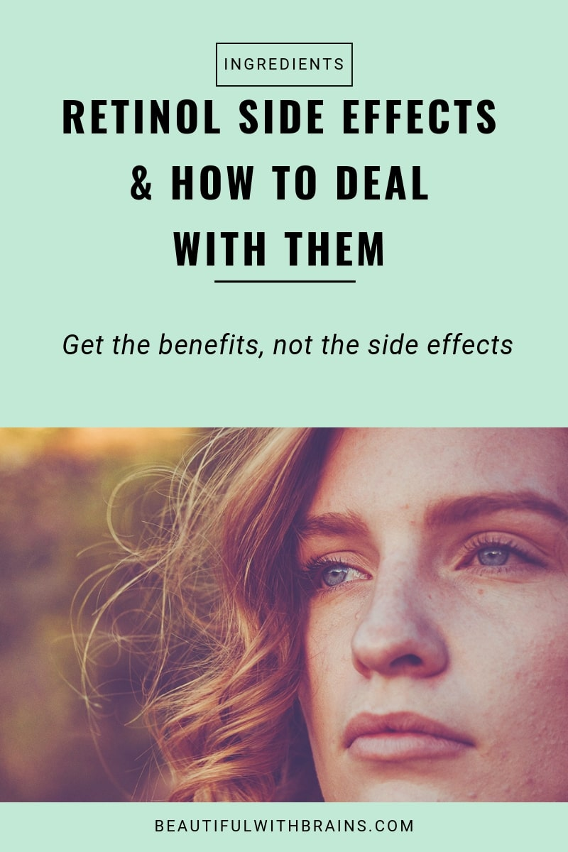 retinol side effects and how to deal with them