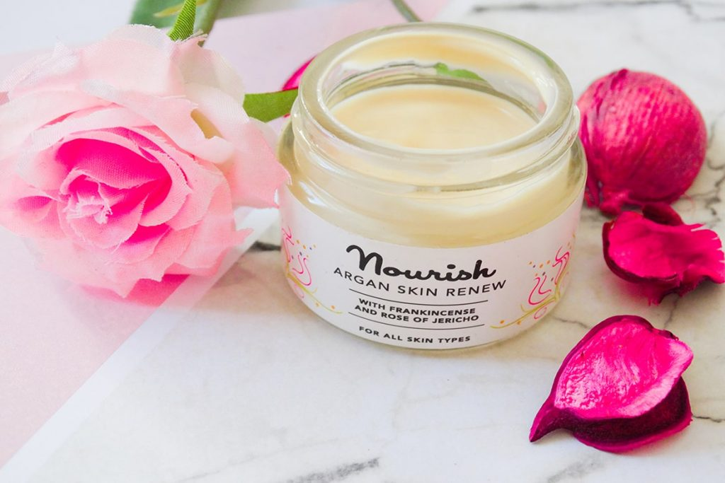 nourish argan skin renew