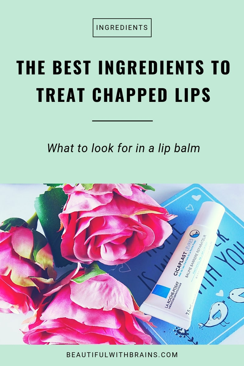 the best ingredients to treat chapped lips