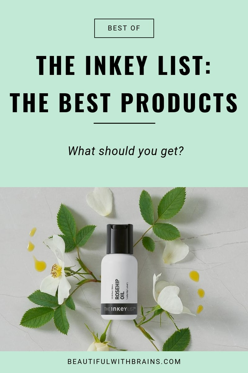 the best the inkey list products