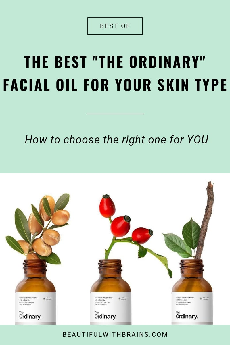 What's The Best The Ordinary Oil For Your Skin Type