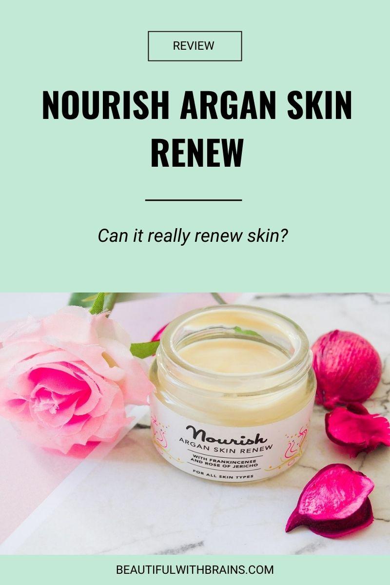 Nourish Argan Skin Renew review