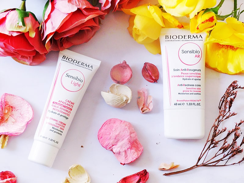 bioderma sensibio AR and sensibio light