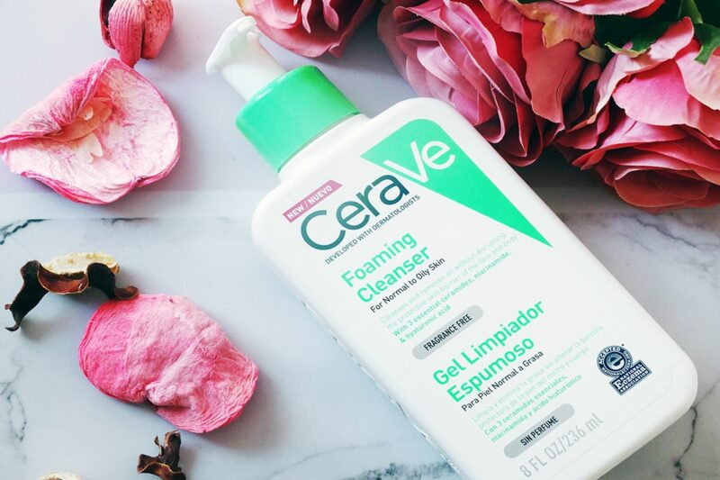 cerave foaming cleanser review
