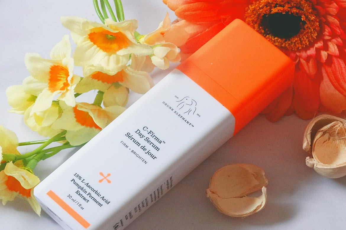 best vitamin C serum: drunk elephant c-firma day serum