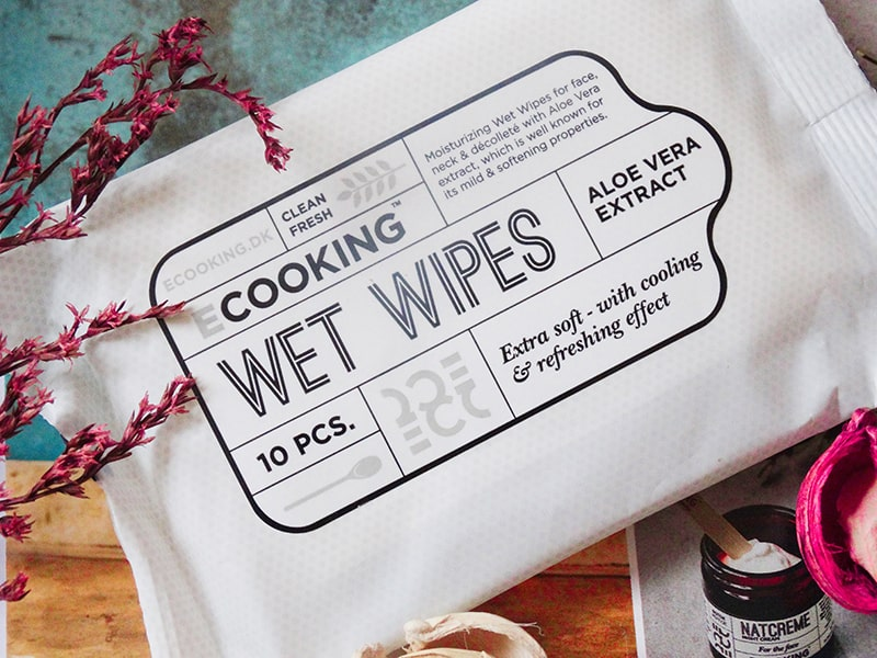 ecooking wet wipes