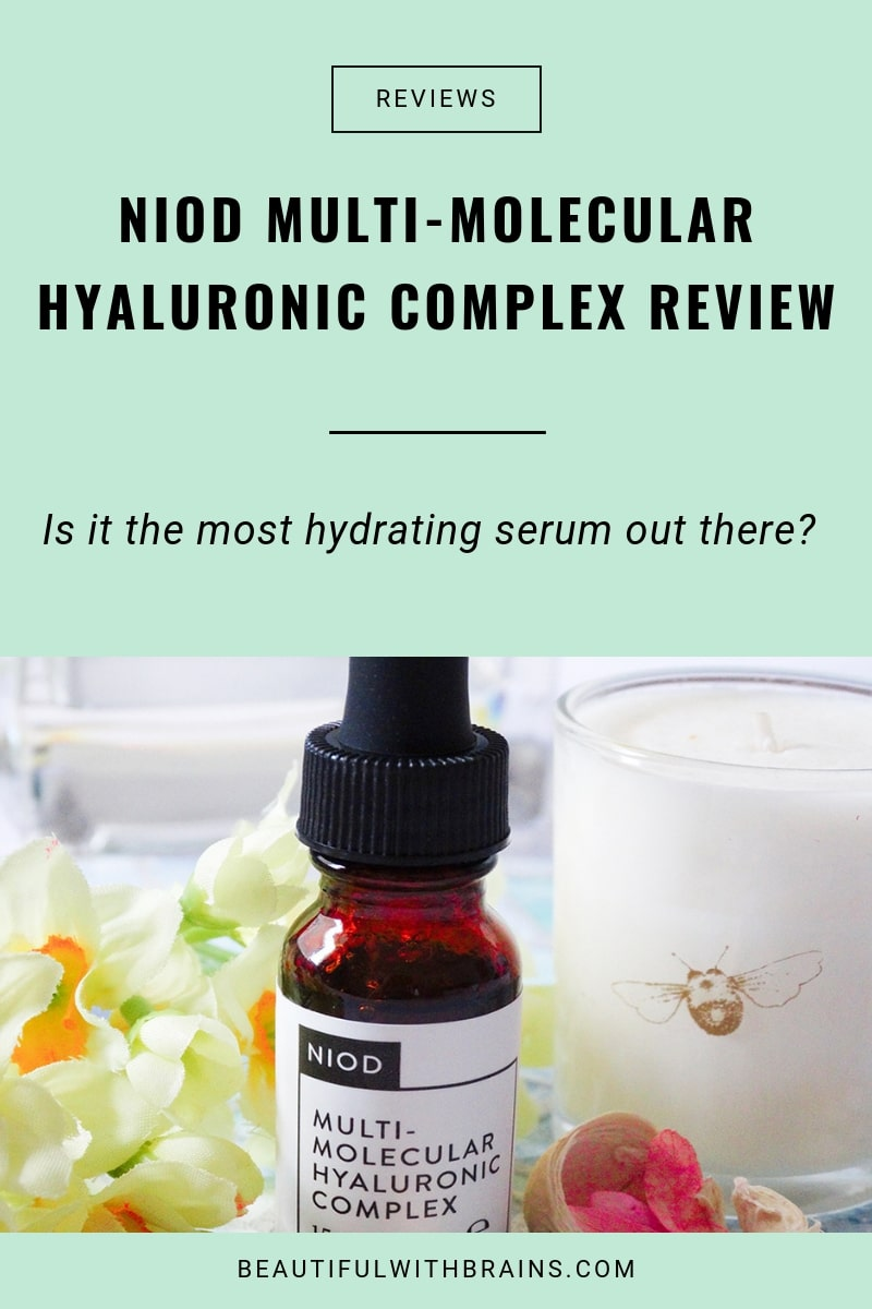 niod multi-molecular hyaluronic complex review