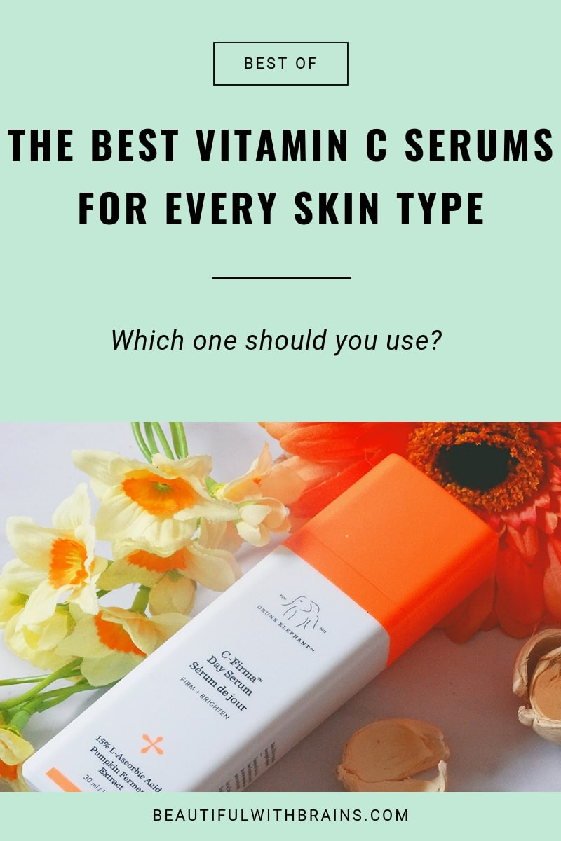 the best vitamin C serums with vitamin E and ferulic acid