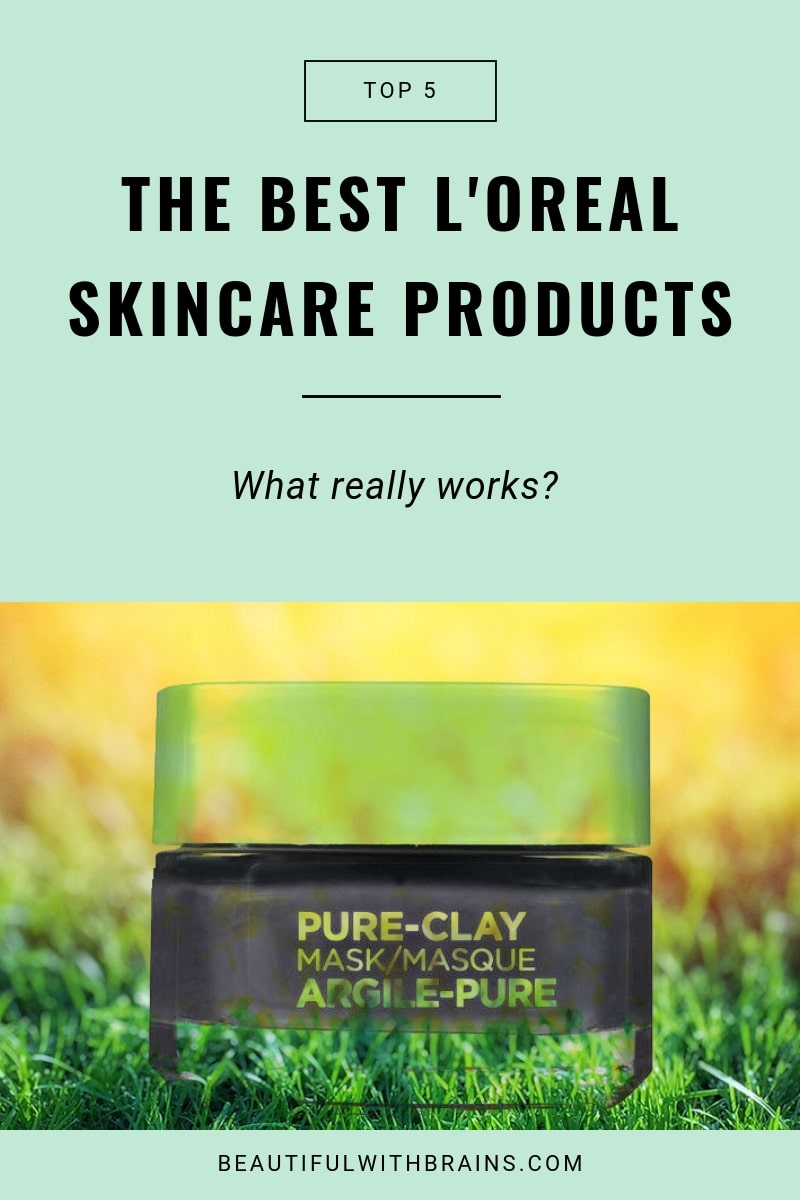 5 best L'Oreal skincare products