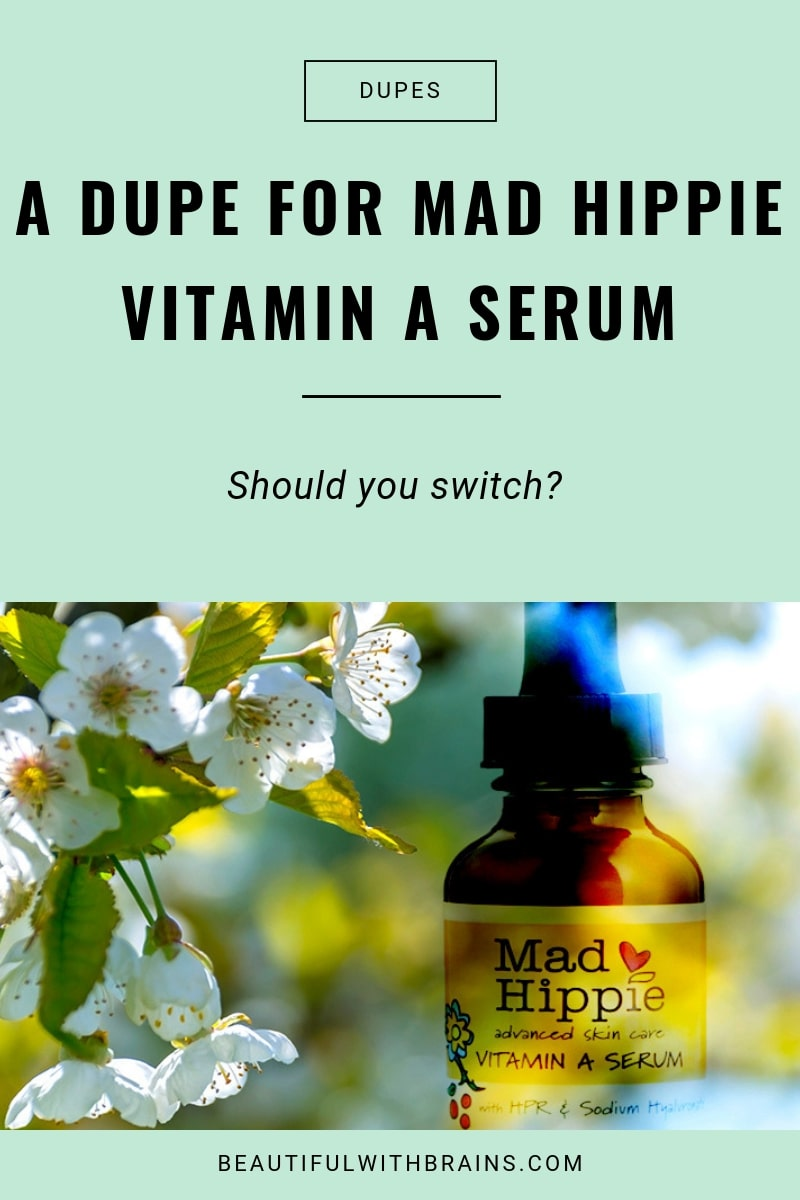 a dupe for mad hippie vitamin A serum