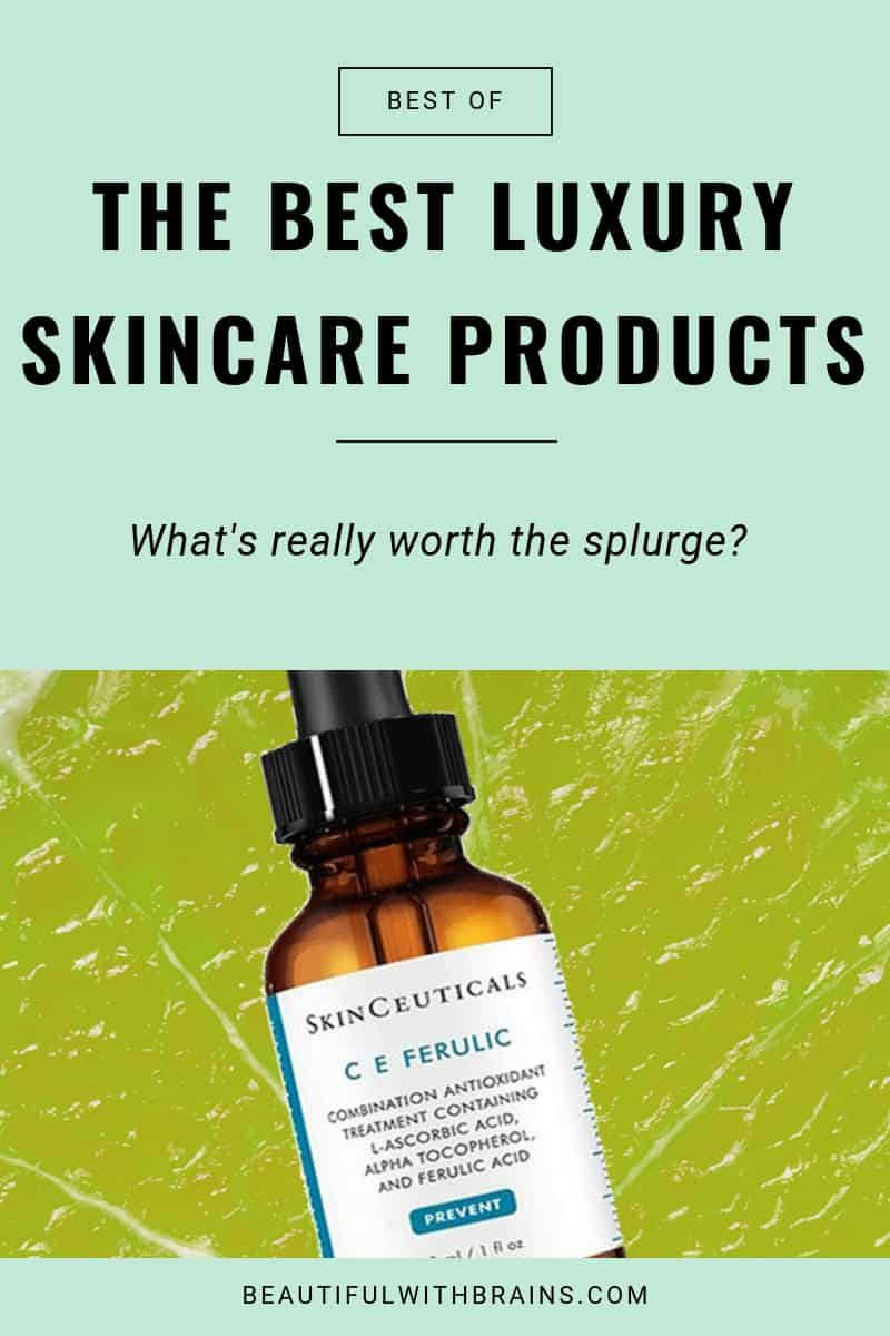 best luxury skincare products