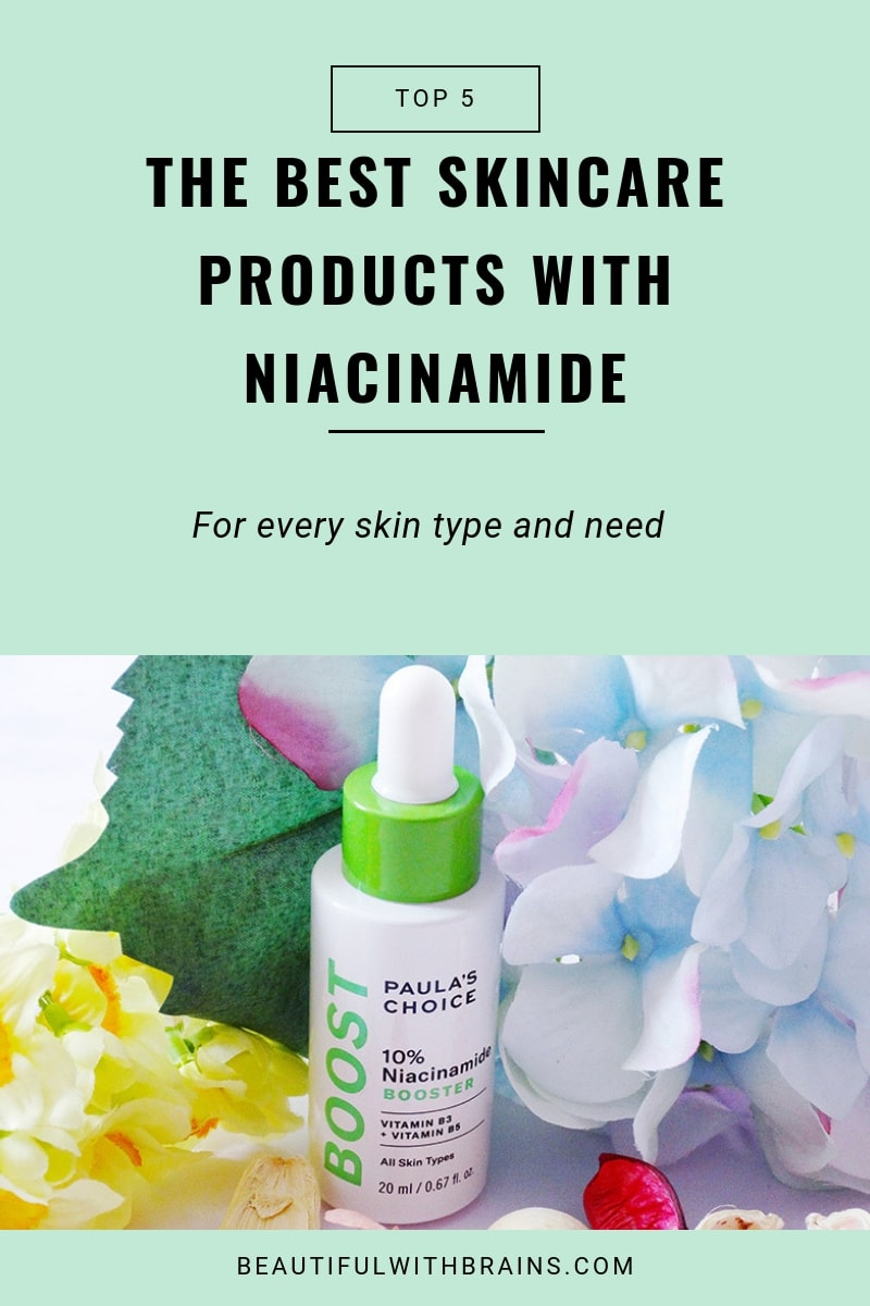 best niacinamide products
