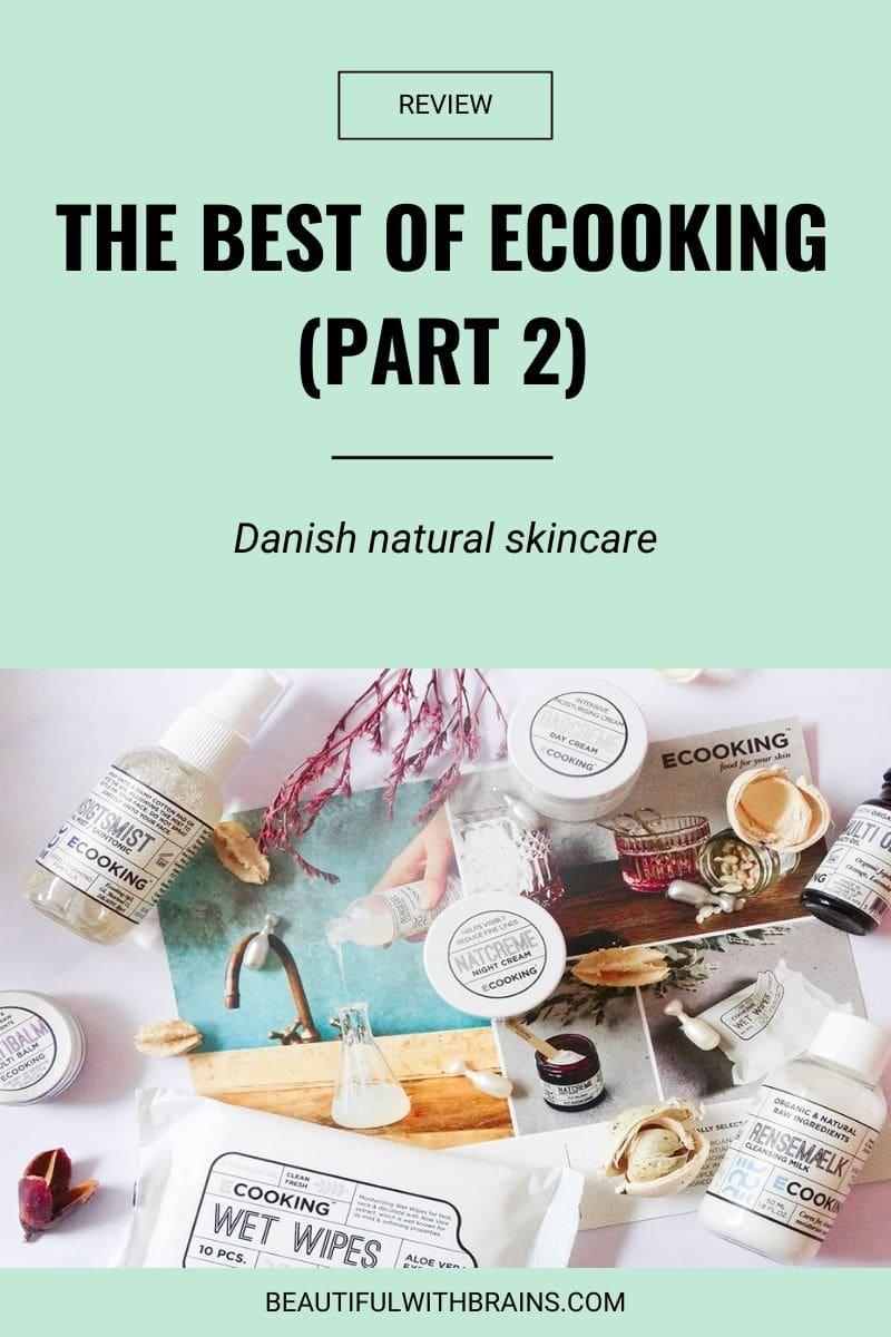 ecooking natural skincare review