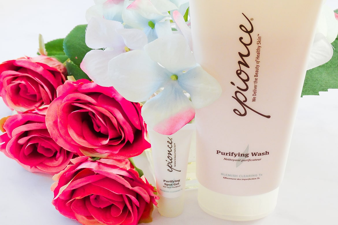 Epionce Purifying Spot Gel and Purifying Wash