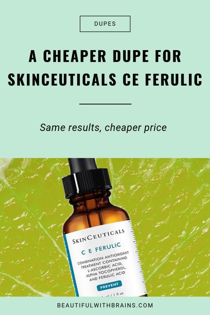 Paula's Choice C15 Booster a dupe for Skinceuticals CE Ferulic