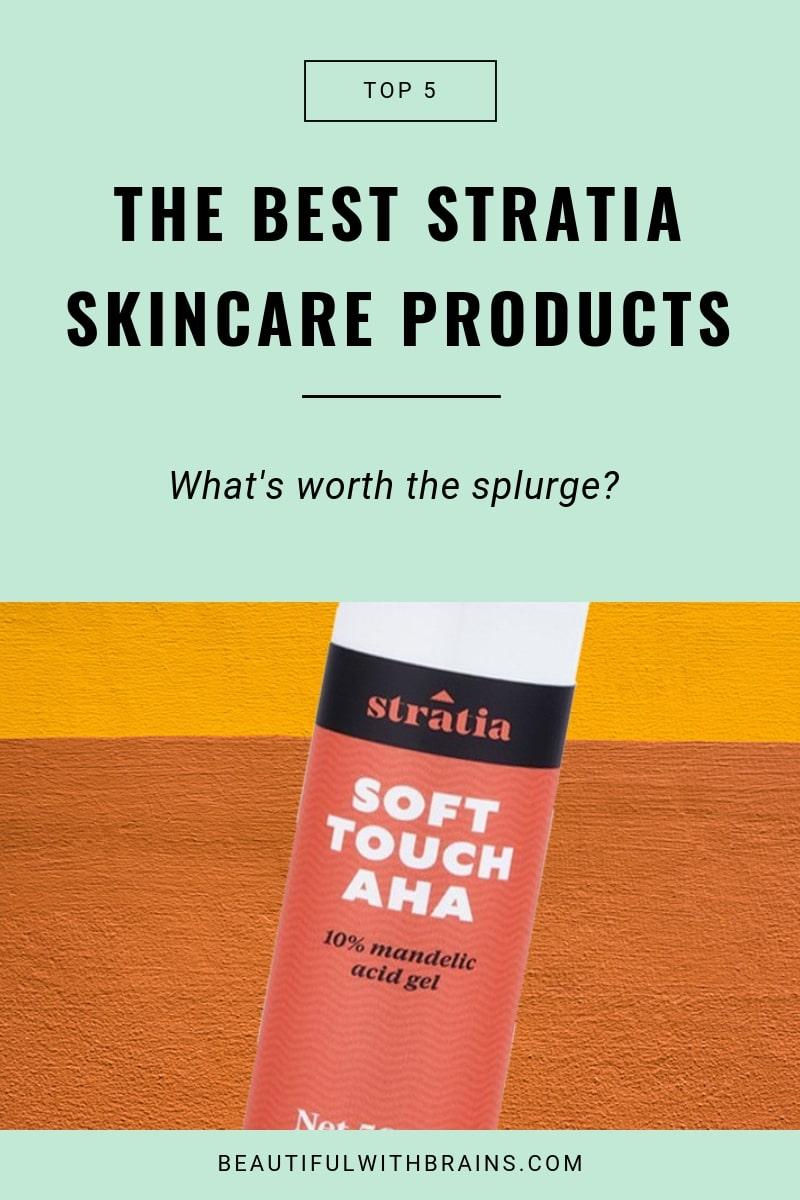 the best stratia skincare products