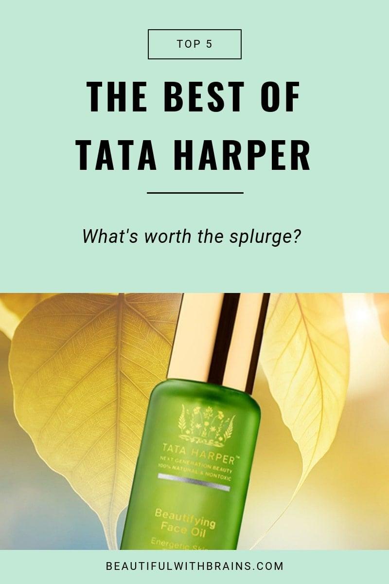 the best Tata Harper products