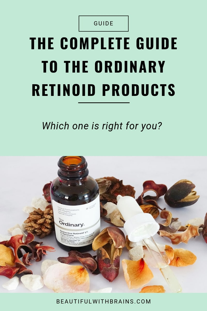 guide to the ordinary retinoid products