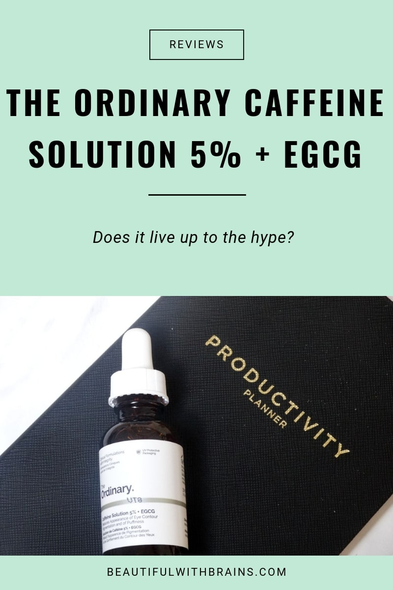 the ordinary caffeine solution egcg