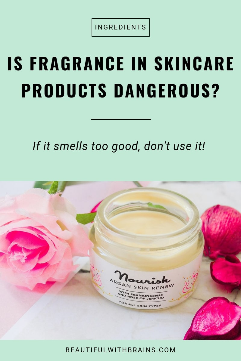 avoid fragrance in skincare products: why it's bad for skin