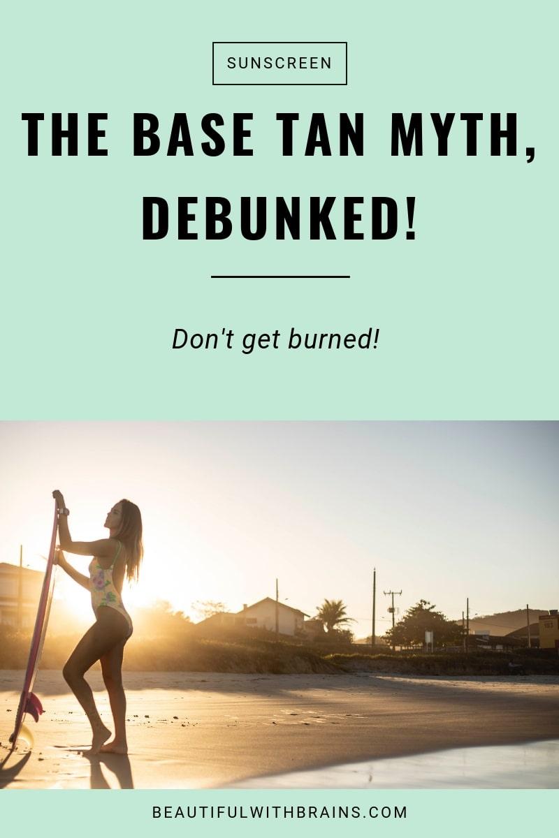 base tan myth debunked