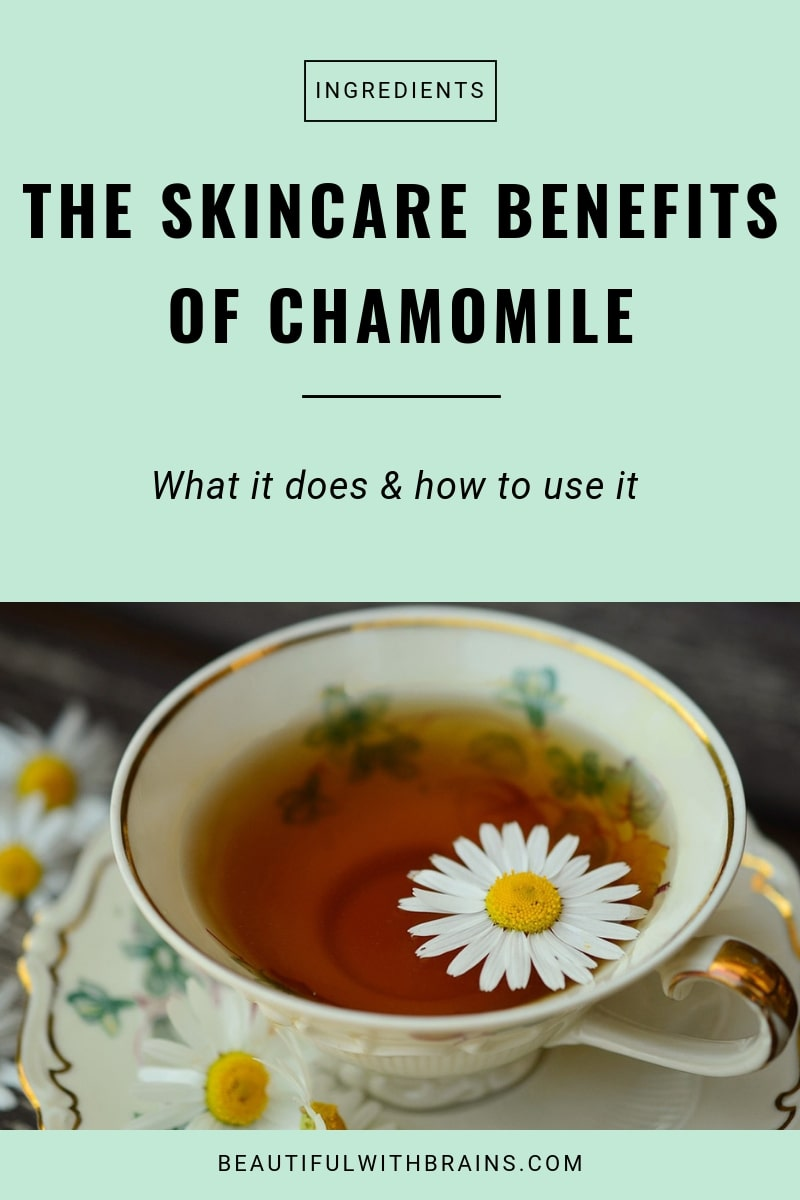 chamomile skincare benefits