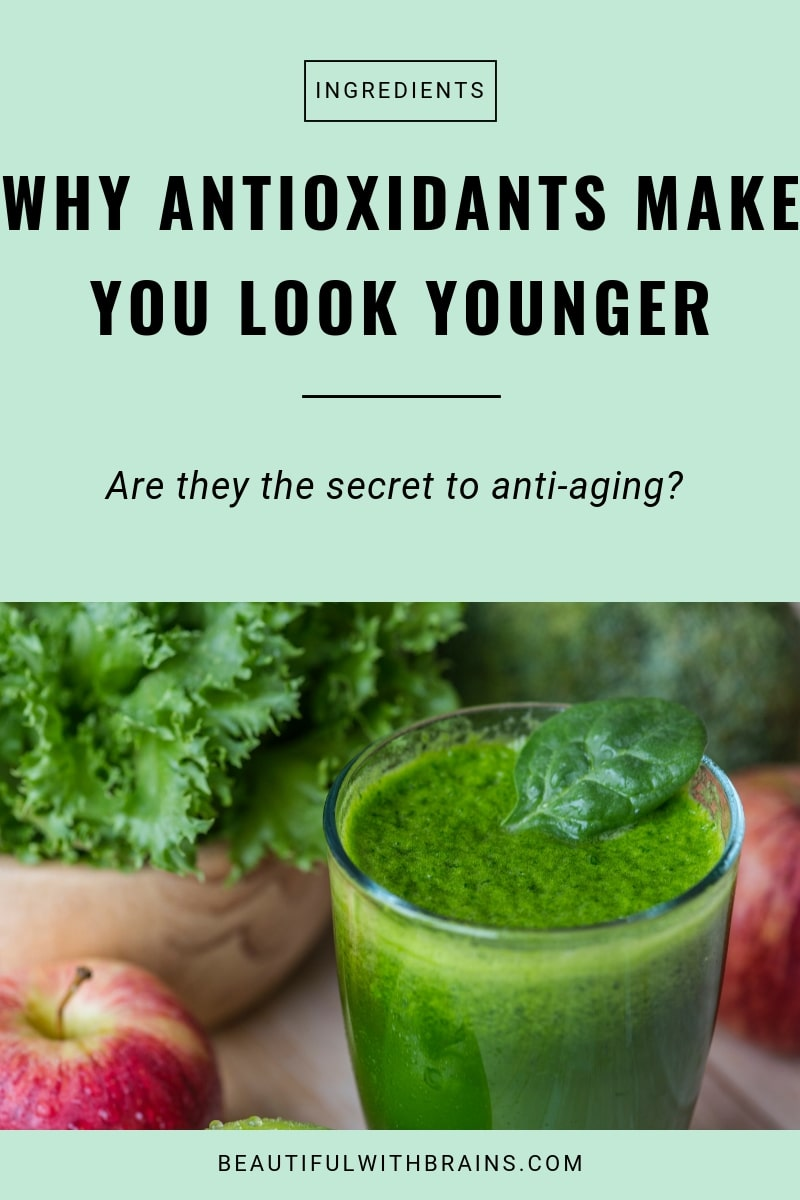 how antioxidants work in skincare