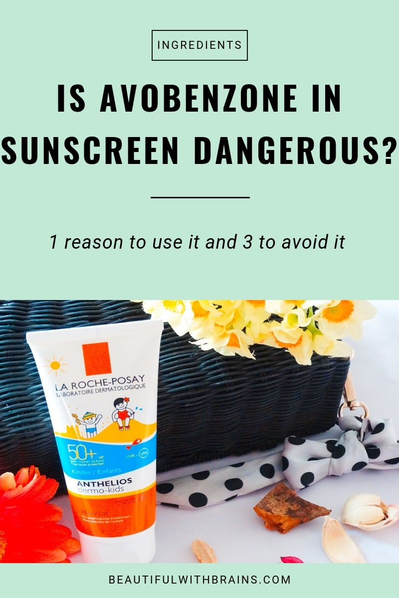 is avobenzone dangerous in sunscreen